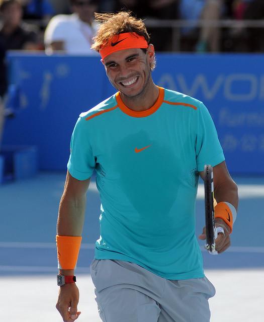 Rafael Nadal. Crédit photo : Flickr