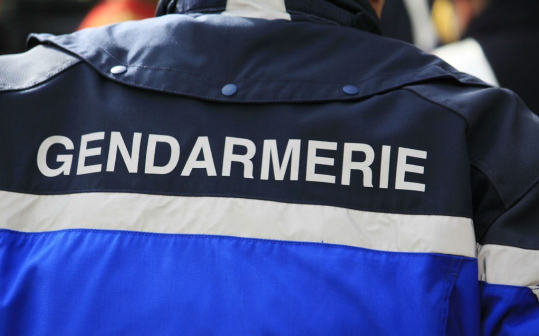 La gendarmerie est arrivée sur les lieux aux alentours de 4 heures du matin.