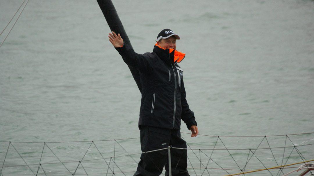 Alex Thomson a battu le record des 24 heures.