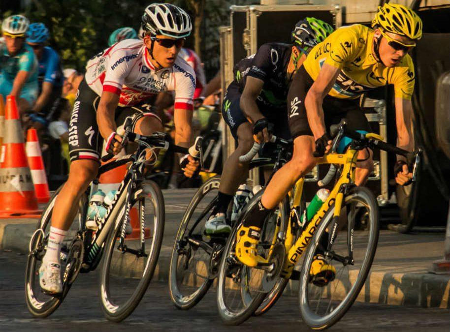 Chris Froome (à gauche) et Sky connaissent leurs adversaires de l'été./ Photo Flickr