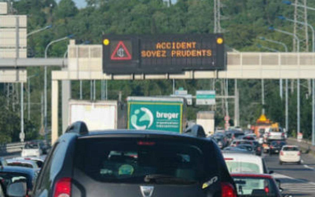 L'accident a fait 65 blessés./ Photo DR Pittou2