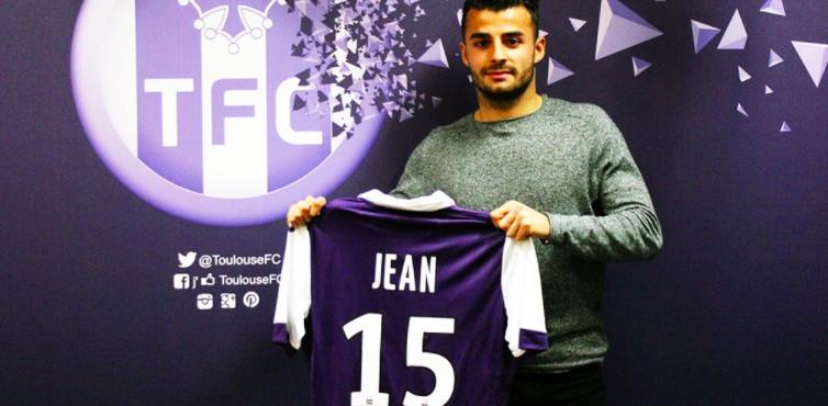 Corentin Jean est officiellement prêté au TFC./ Photo DR Toulouse Football Club