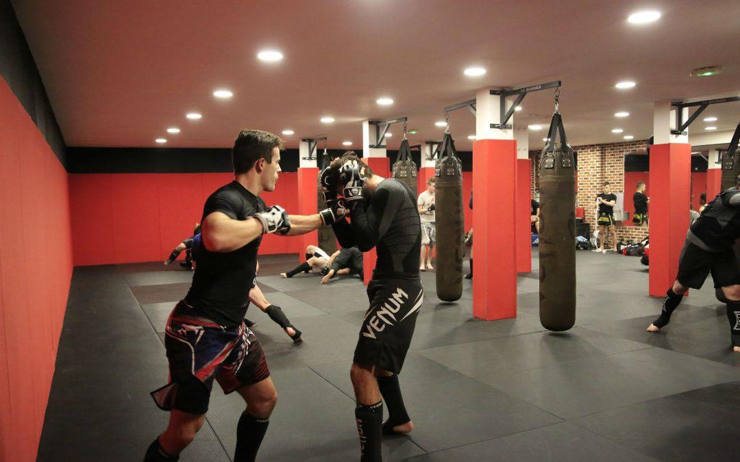 Un cours de MMA au FightClub de Toulouse./ Photo Yannick Lonca