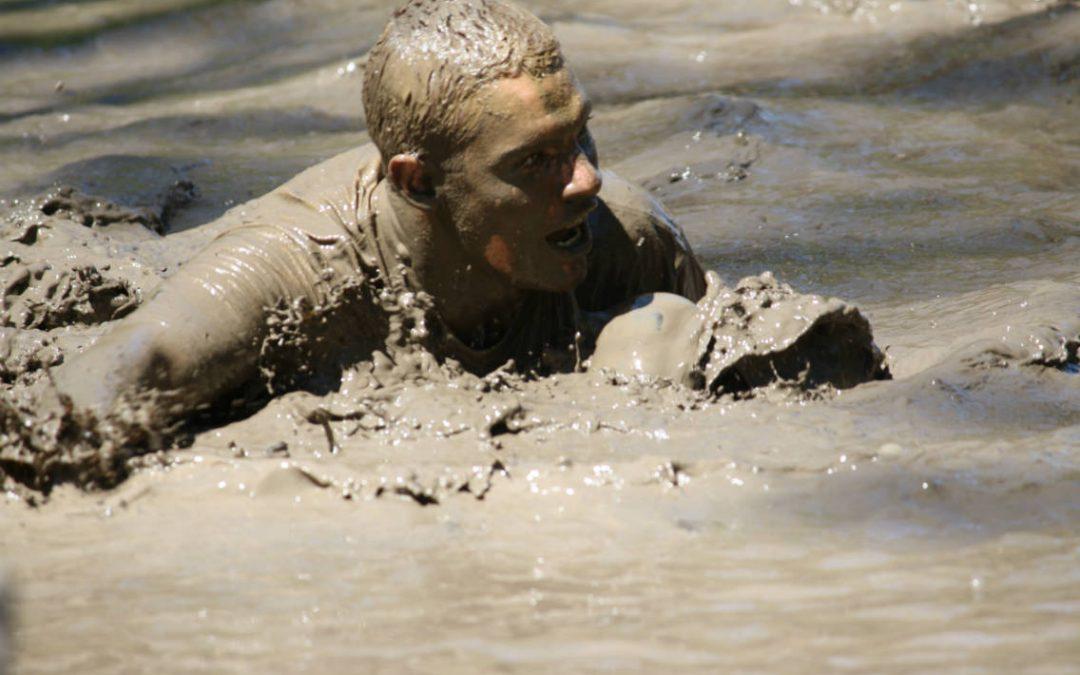 Mélangé bain de boue et exercice, c'est ce que propose le Diable à la