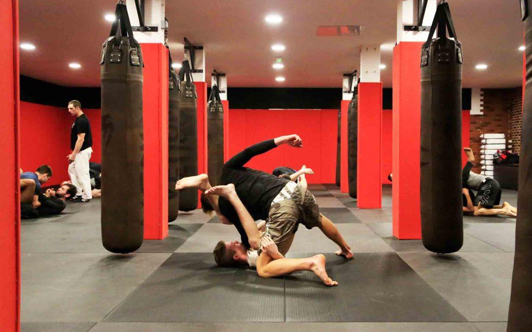 Entrainement de MMA, au fighting club de Toulouse. /Photo Yannick Lonca