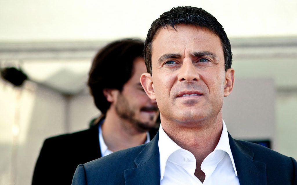 Manuel Valls : après la farine, la claque