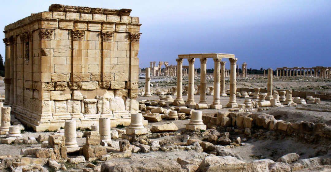 La cité historique de Palmyre./ Photo DR brunomalfondet