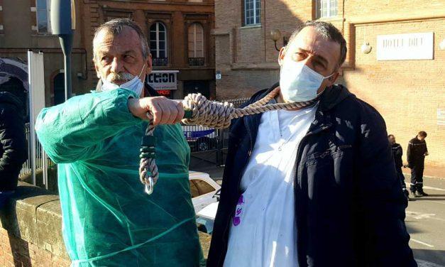 [VIDEO] Manifestation : le personnel soignant ne décolère pas