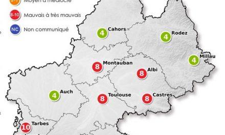 La pollution s'installe à Toulouse