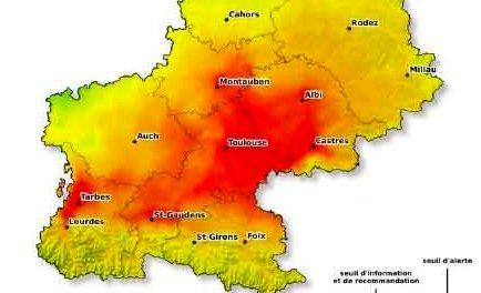 Episode de pollution en Midi-Pyrénées