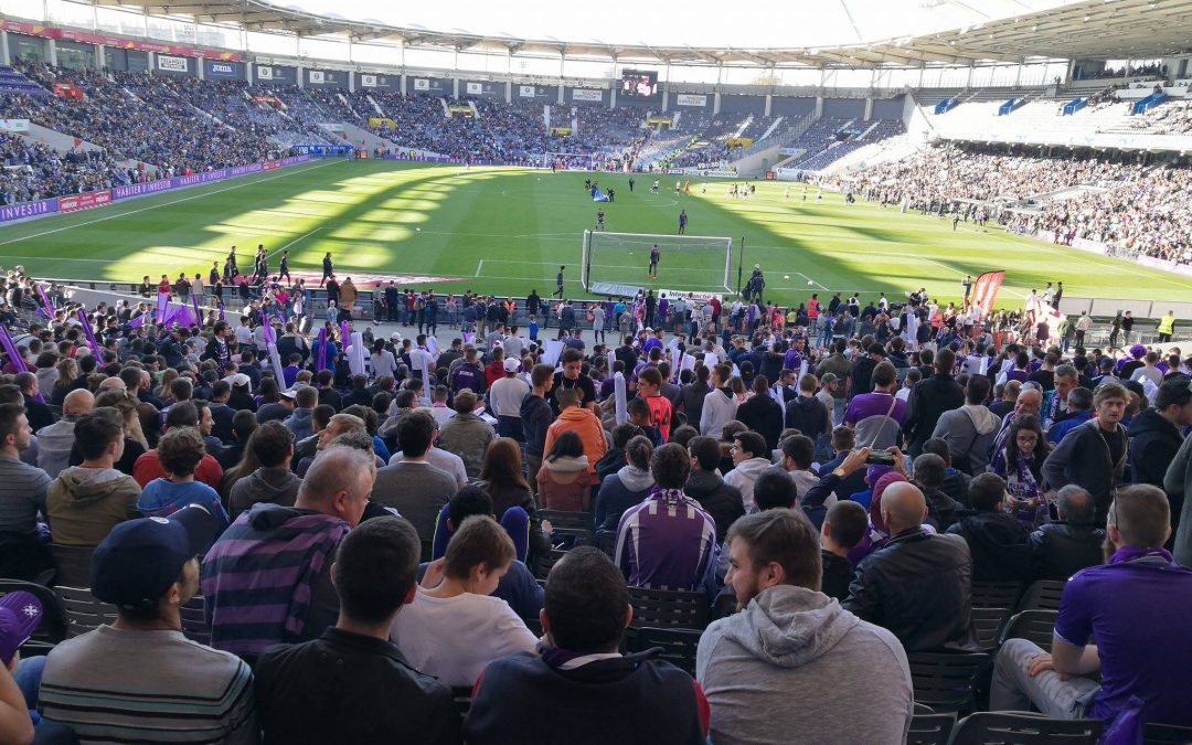 Stadium de Toulouse lors d'un match du TFC. Crédit photo : E.R