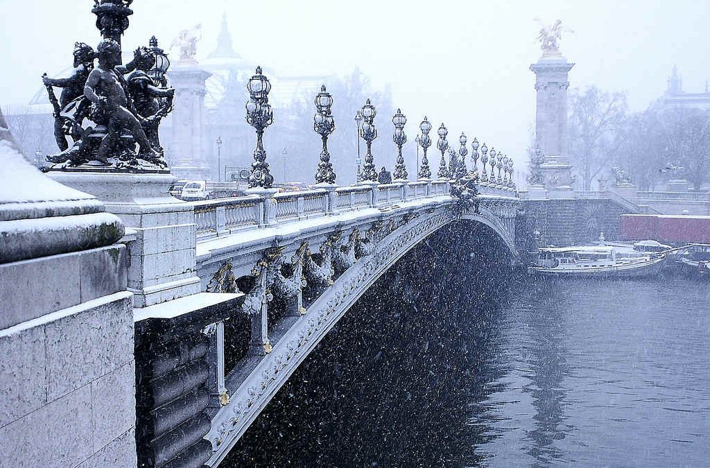 Image d'illustration : Paris sous la neige./Photo CC Jfgomet