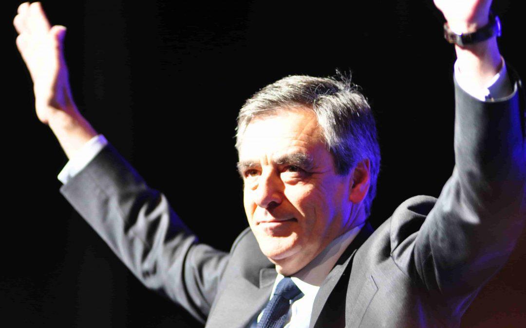 François Fillon était en meeting à Toulouse le jeudi 13 avril. /Photo : Léo Rebeyrol