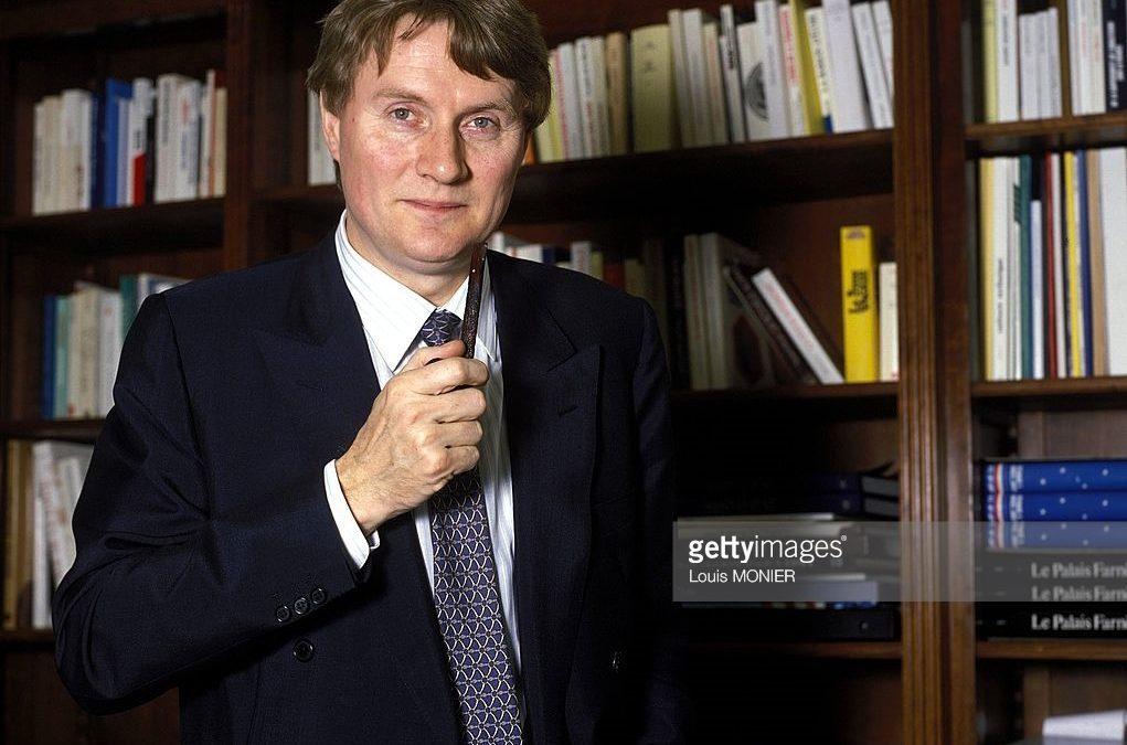 Alain Devaquet, en janvier 1988. CP Louis Monier