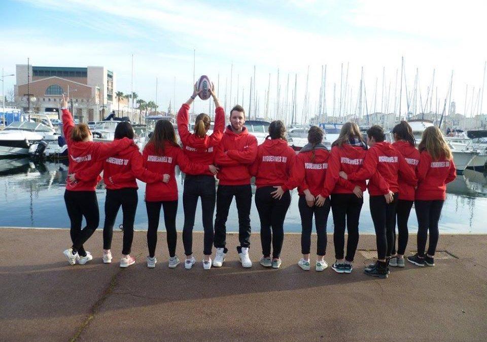 Sébastien Vuillon est l'entraîneur de l'équipe féminine d'Ayguesvives XIII. / Crédit : Facebook Sébastien Vuillon.