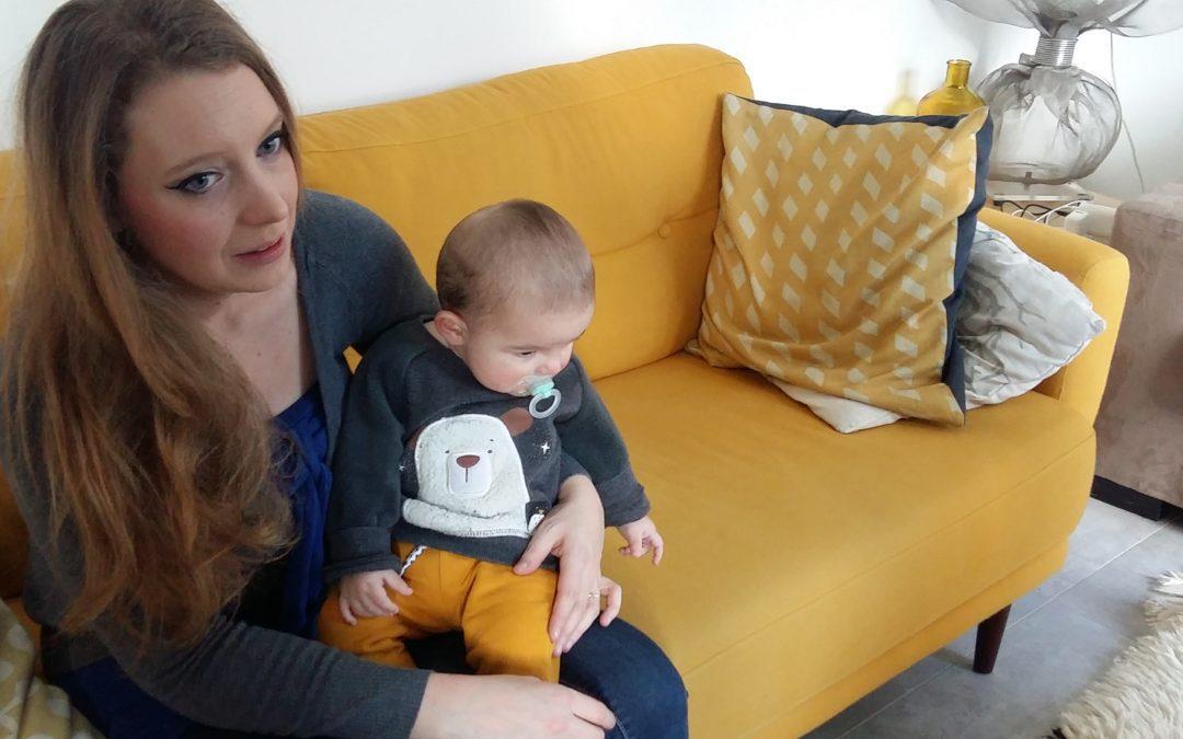 Ségolène Noviant et Noan @Crédit Rémi Salvayre