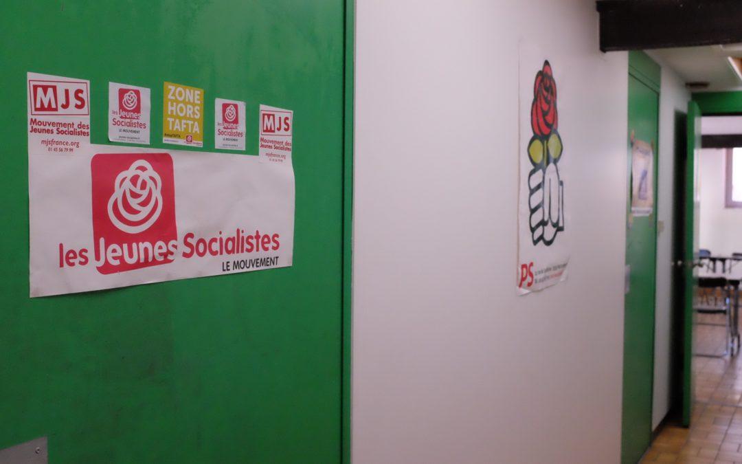 Siège du Parti Socialiste (Crédit : Lucie Cayrol)