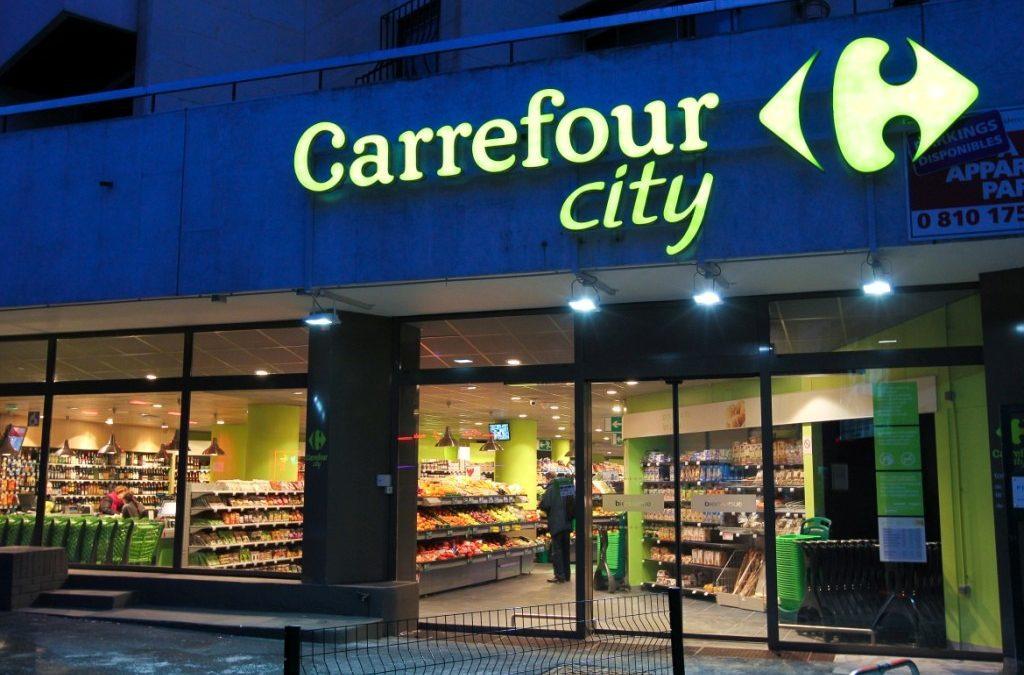 Façade d'un magasin Carrefour City - Wikimedia Commons