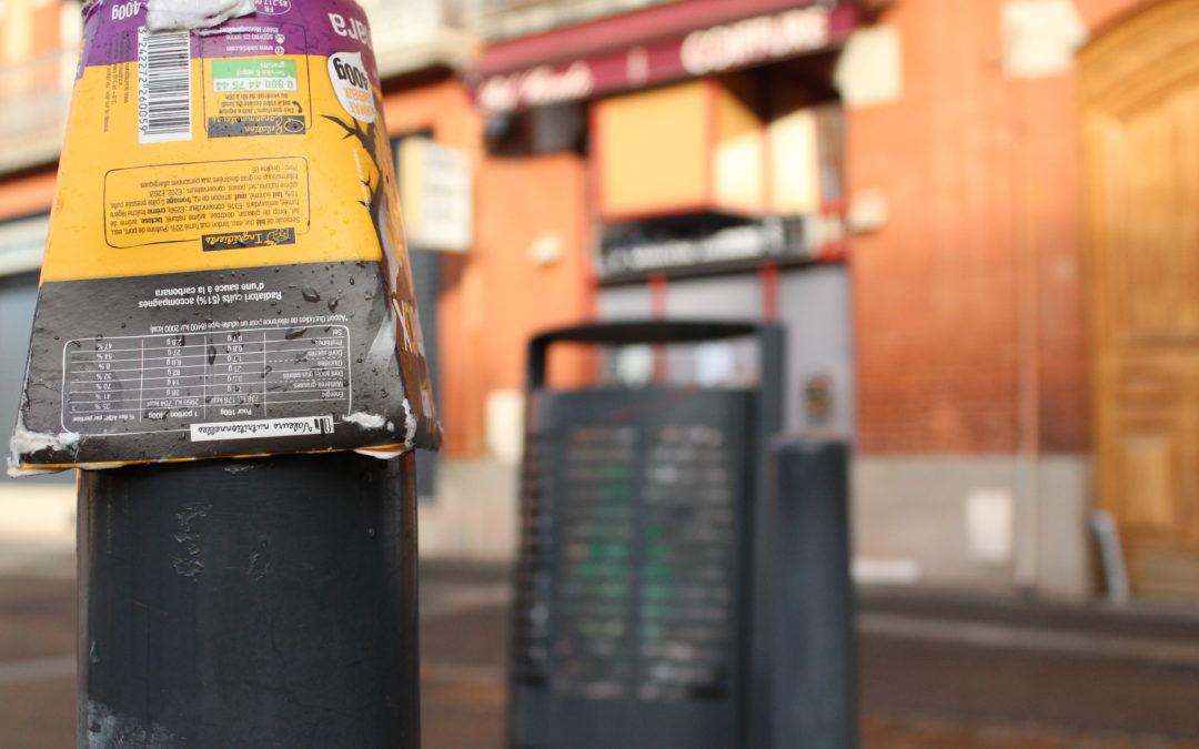 En plus de cette nouvelle brigade, la mairie installera de nouvelles poubelles. Crédit : Hugo Murail