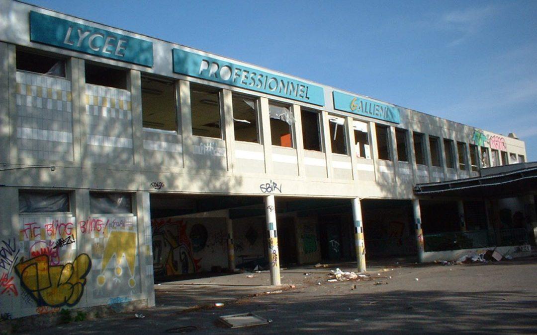 Le lycée Gallieni à Toulouse