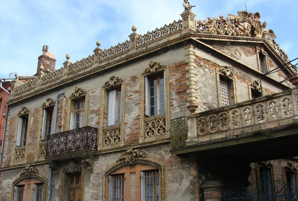 Rue de la Colonne, la maison des Giscard est un véritable modèle architectural. / Marie Géraldine Furic