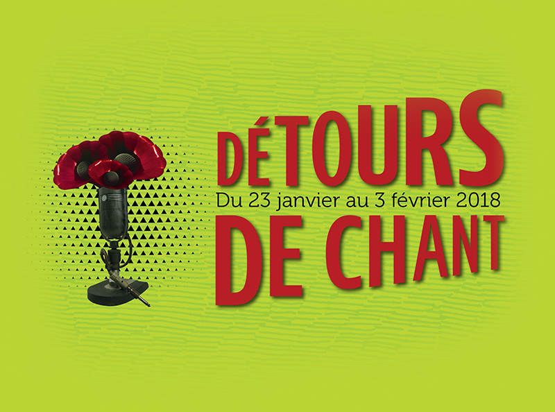 Le festival Détours de Chant prend place jusqu'au 3 février
