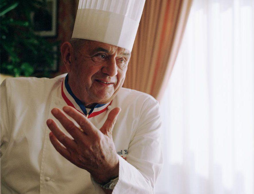 Paul BOCUSE, 3 étoiles au guide michelin / crédit : cc