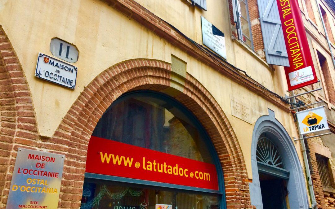 C'est le temple de l'Occitan à Toulouse ! @RégisDaro