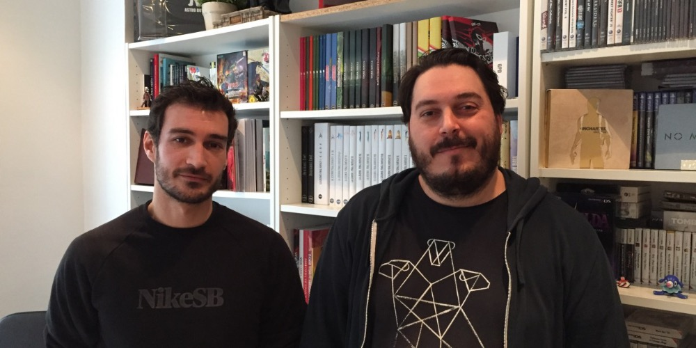 Mehdi El Kanafi et Nicolas Courcier, fondateurs de Third Editions