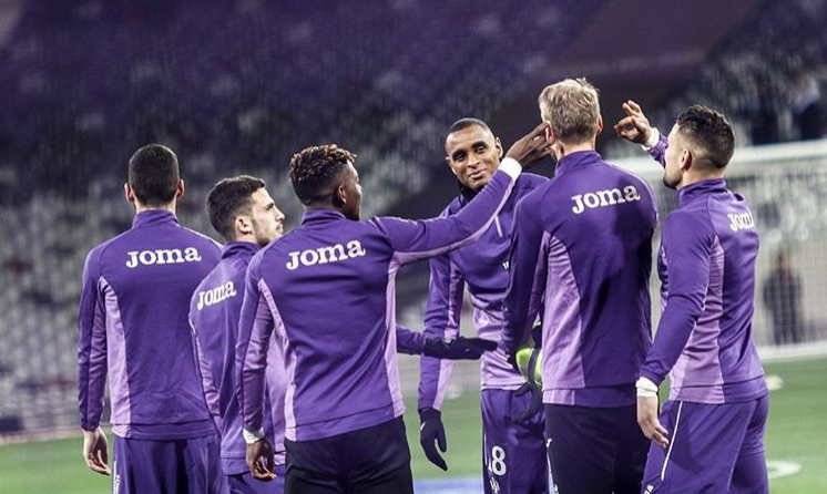 Les Toulousains ont reçu le PSG samedi /Crédit : Instagram Toulouse FC