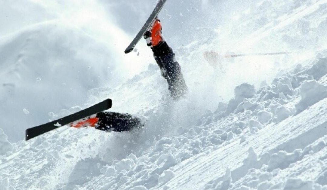 Cinq chutes spectaculaires faites lors des Jeux Olympiques d'Hiver. / Crédit : CC