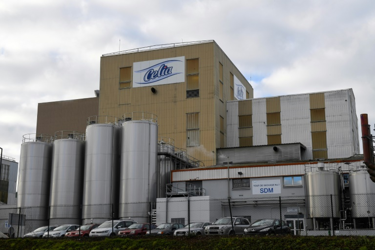 L'usine Lactalis de Craon à l'origine de la contamination du lait infantile / Crédit cc