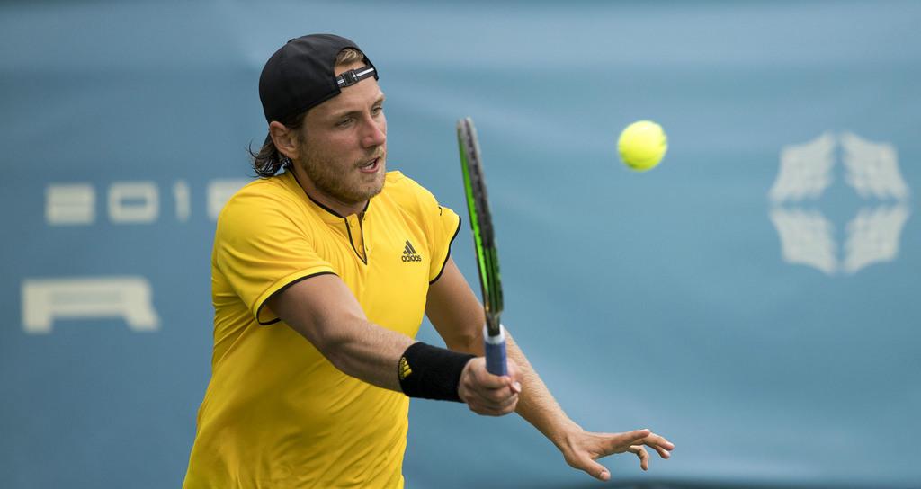 Le français Lucas Pouille élimine Raonic et rejoint Djokovic en demi-finale, à Melbourne. (Cdt/Flickr)