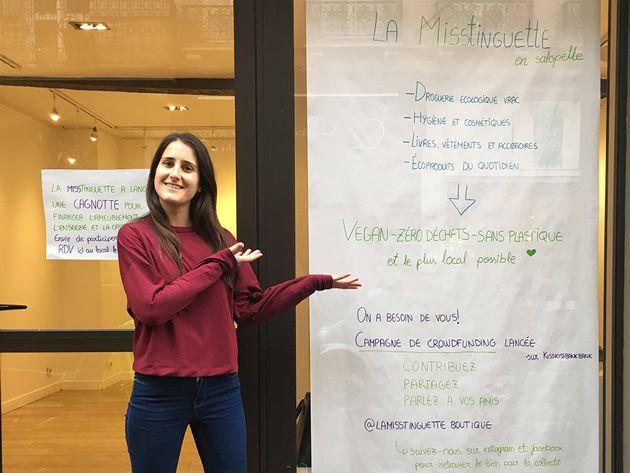 Andrea Salvi, gérante de la boutique