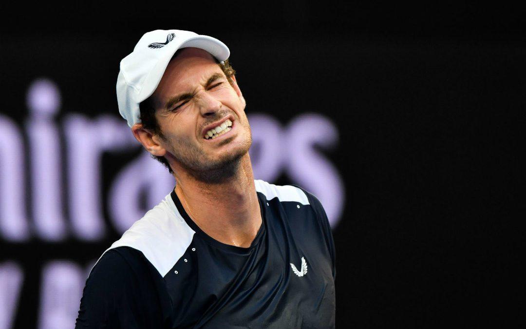 Andy Murray lors de l'Open d'Australie/ Crédit photo : Icon Sport