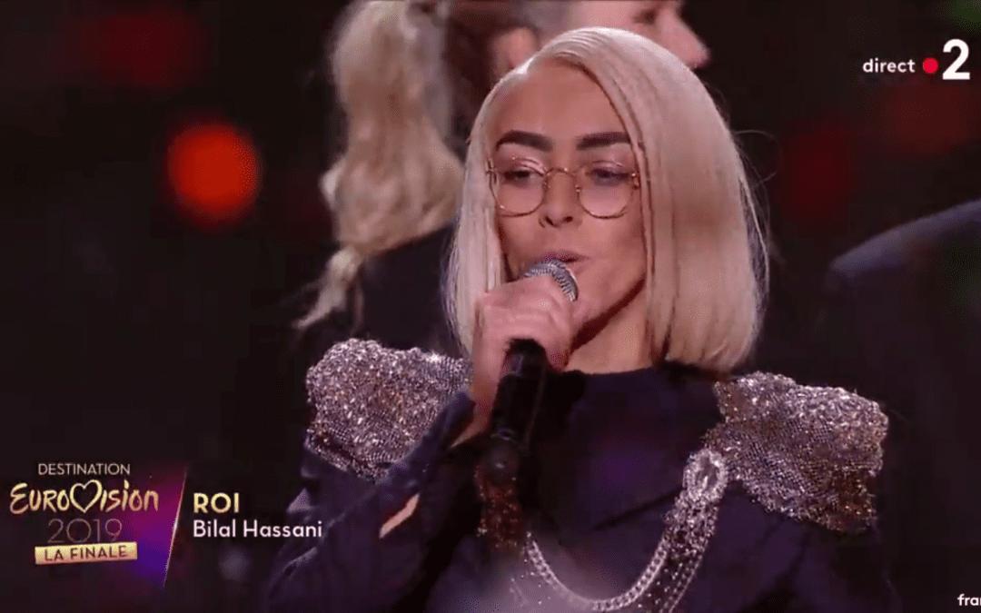 Bilal Hassani va représenter la France pour l'Eurovision 2019./ Crédits : Capture d'écran France 2