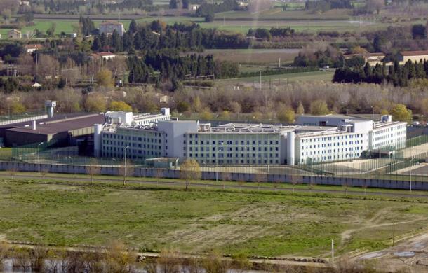 La prison de Tarascon, en 2003. (Cdt/Gérard Julien/ AFP)