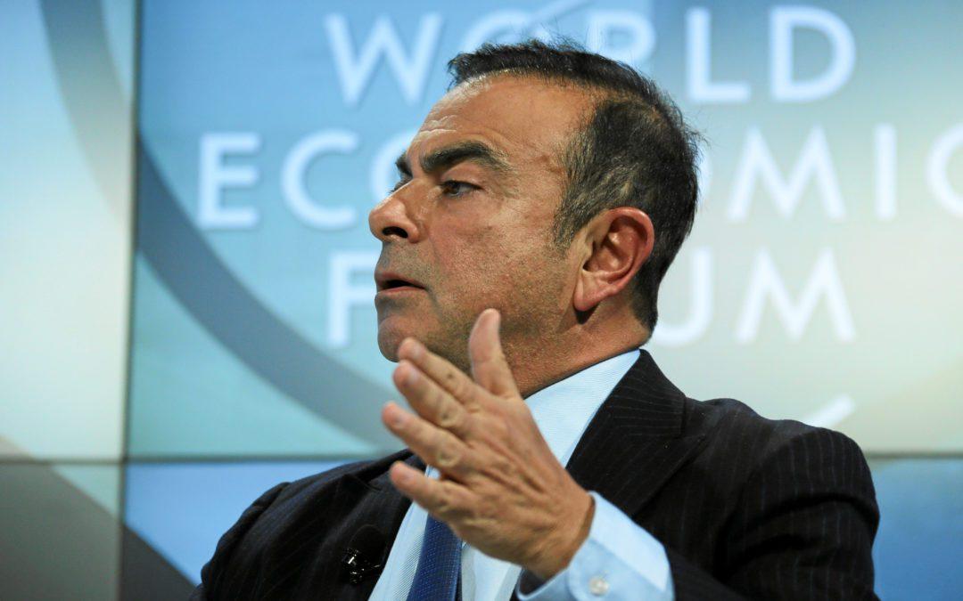 Carlos Ghosn a officiellement démissionné de son poste de président de Renault. Crédits : Wikimédia Commons