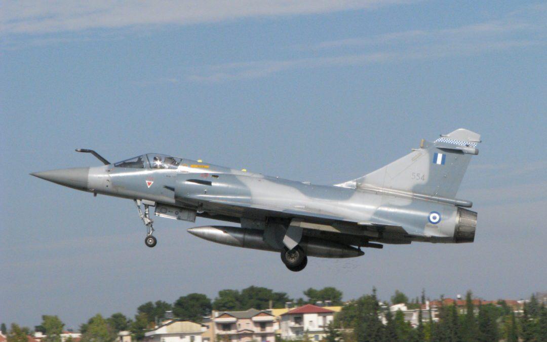 Mirage 2000 en Grèce en 2011. Crédit : Wikipédia