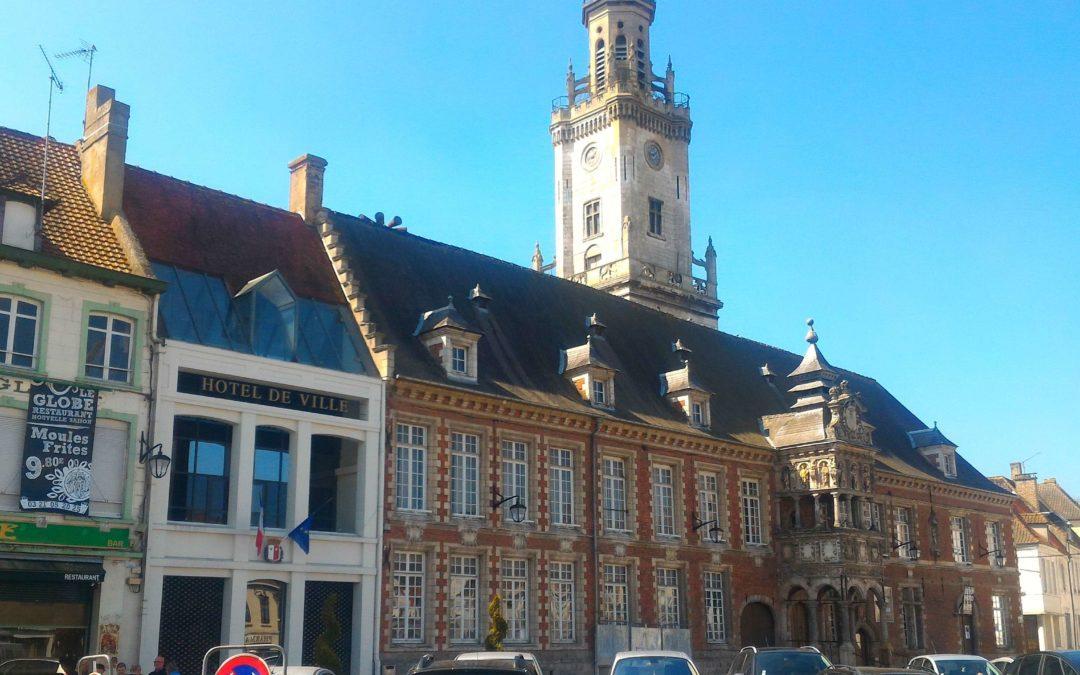 La mairie d'Hesdin, où Stéphane Sieczkowski-Samier exerce depuis 2014 les fonctions de maire.