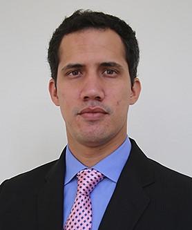 Juan Guaido s'est autoproclamé hier président du Vénézuela. Crédits : Wikimédia Commons