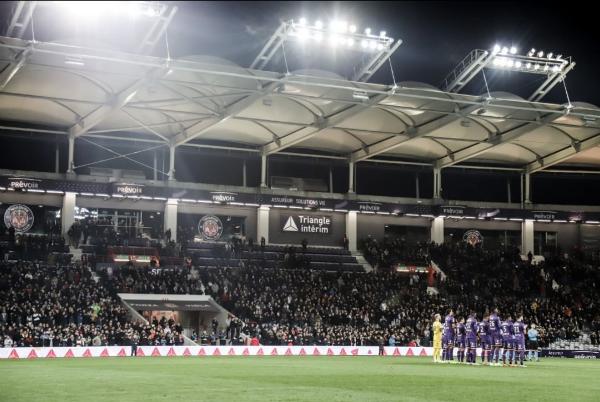Le TFC arrache le match nul face à l'OL / Crédits : Instagram Stadium de Toulouse