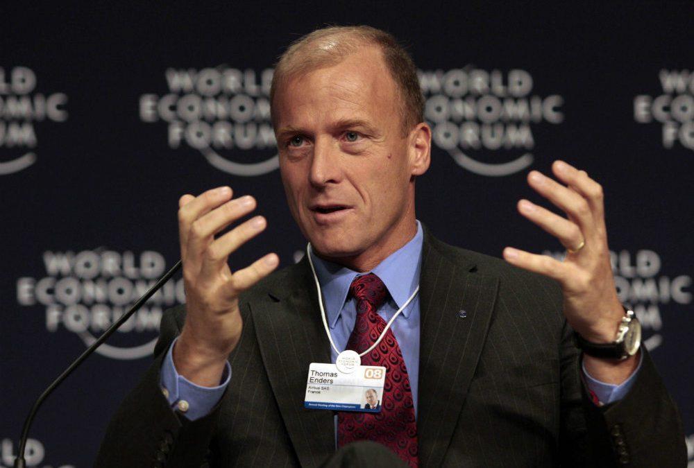 Tom Enders, président du groupe Airbus./ Crédits photo : Wikipedia Commons