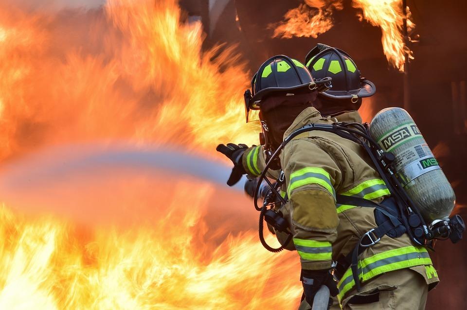Incendie ravageur dans les locaux de France Bleu Isère. Crédits : Pixabay