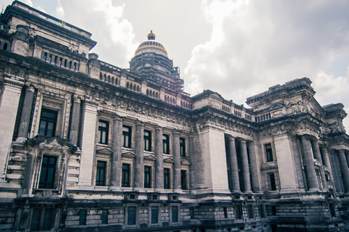 Palais de justice de Bruxelles / Photo Flickr