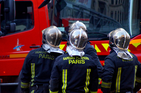 Sapeurs-pompiers de Paris. Illustration./ Crédits : Flickr
