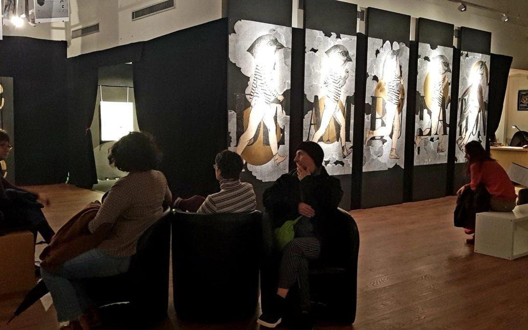 De nombreuses personnes sont venues découvrir l'exposition Madame./ Crédits : A-L.C