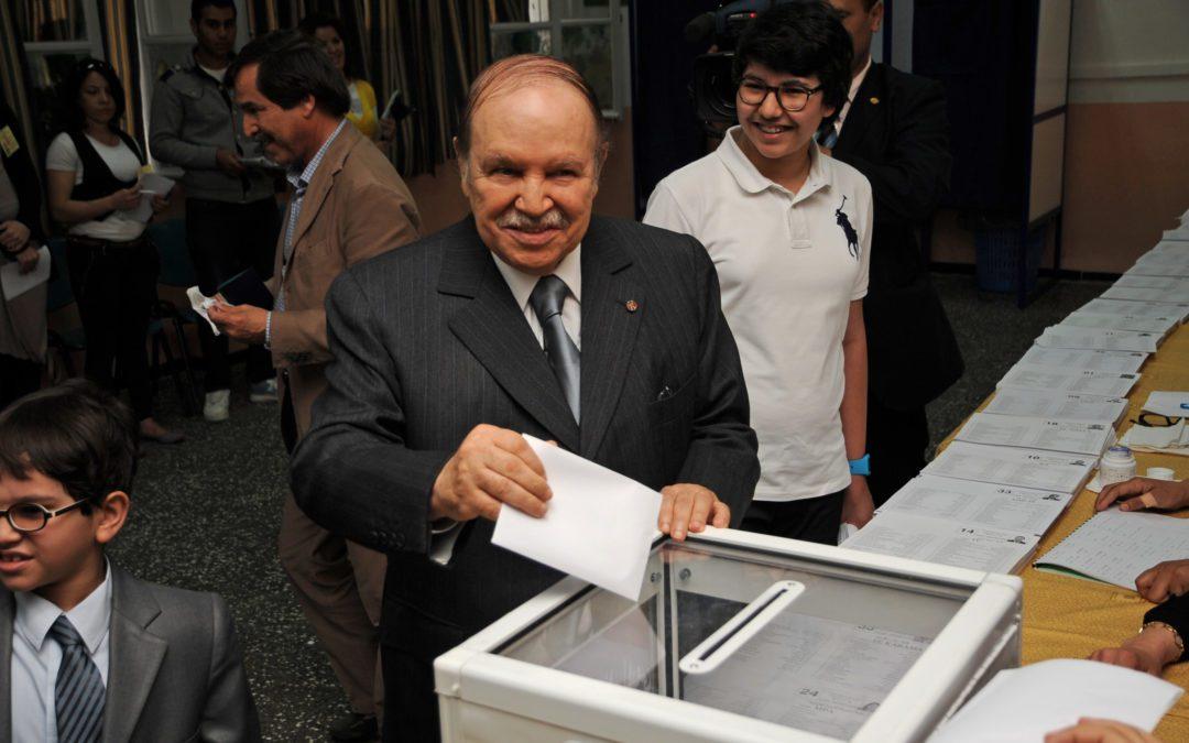 Abdelaziz Bouteflika brigue un cinquième mandat à la tête de l'Algérie. Crédits : Wikipédia Commons