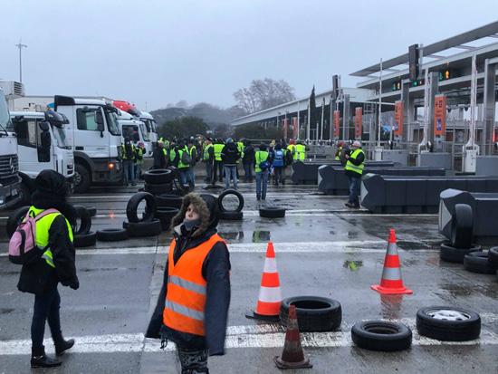 Manifestations ce matin à Toulouse / Crédits : Solène Heydon