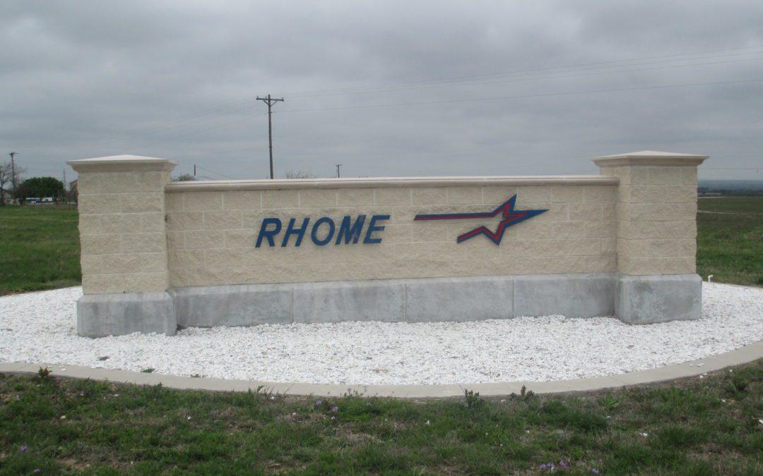 La famille vivait près de Rhome, au Texas./ Crédits : Wikipédia